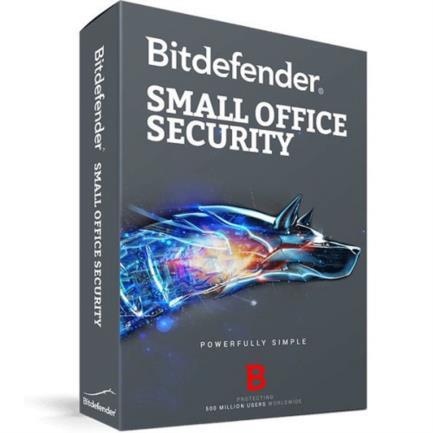 Licencia Antivirus Bitdefender Small Office Security 1 Server+5 Usuarios Caja