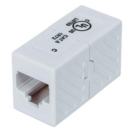 Cople Intellinet RJ45 Cat6 Modular UTP 8P8C H-H Color Blanco