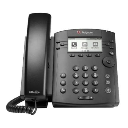TELEFONO POLYCOM VVX 311 6 LINEAS GB ETHERNET CON HD VOICE