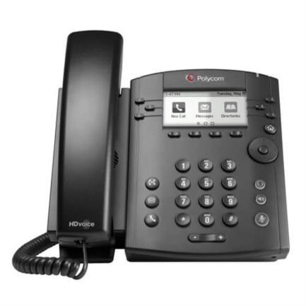 TELEFONO POLYCOM VVX311 6 LN SKYPE FOR BSNSS POE NO POWER KI