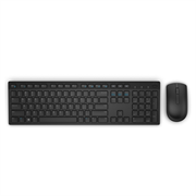 Kit de Teclado y Mouse Dell KM636 Inalámbrico en Español USB Color Negro